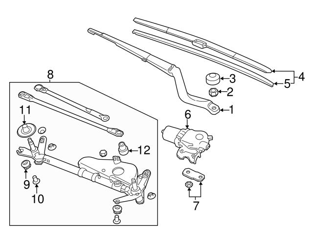 Blade Windshield Wiper 650mm