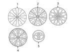 Wheel Cover - Toyota (42602-12860)