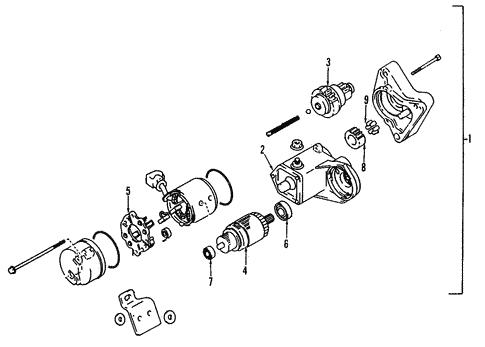 Toyota 28150-76101 Starter Solenoid