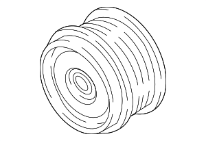 Pulley - Subaru (23752AA170)