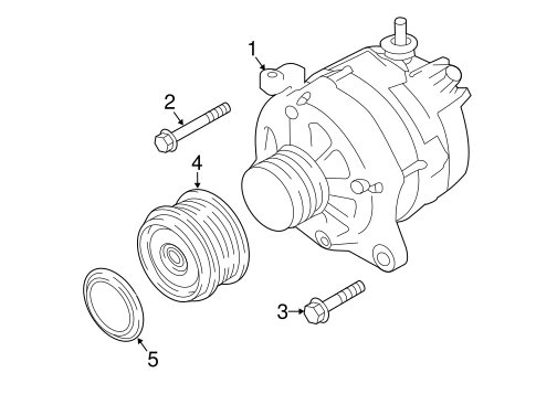 Alternator For 2018 Subaru Crosstrek