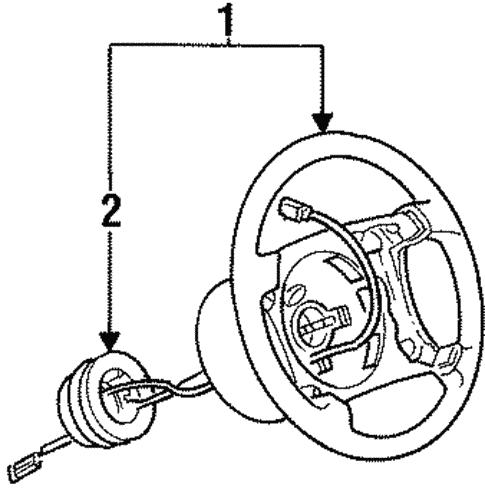 Steering Wheel Trim For 1999 Bmw 323i
