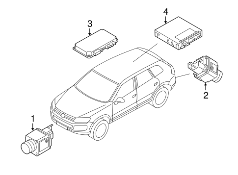 Electrical Components For 2017 Volkswagen Touareg