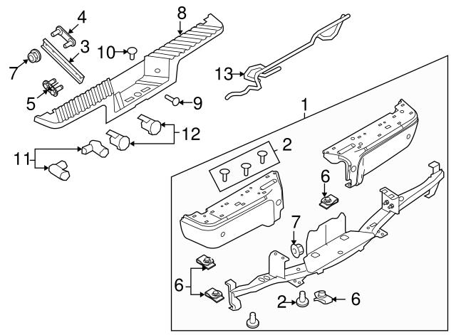2008 2015 Ford Retainer Cc3z 15k861 Abptm