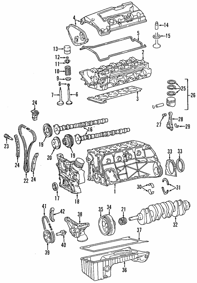 Cylinder Head - Mercedes-Benz (111-010-33-20)