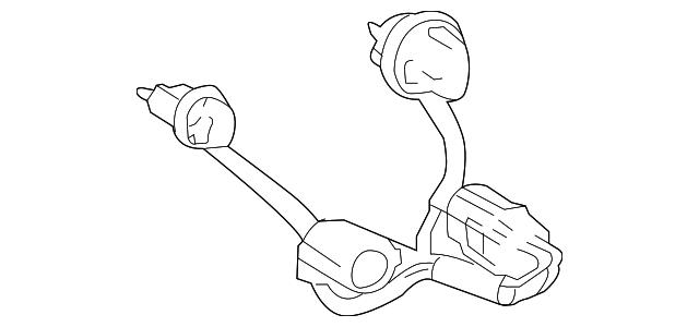 2018 2019 Toyota C Hr Socket Wire 81555 F4020