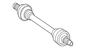 Axle Assembly - Mercedes-Benz (171-350-14-10)