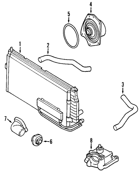 Radiator Components For 2001 Dodge Intrepid