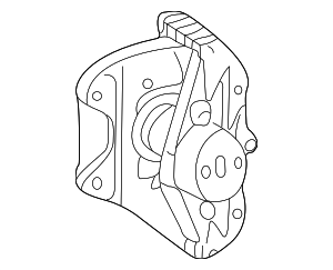 Disc Brake Caliper - Mercedes-Benz (002-420-02-83-64)