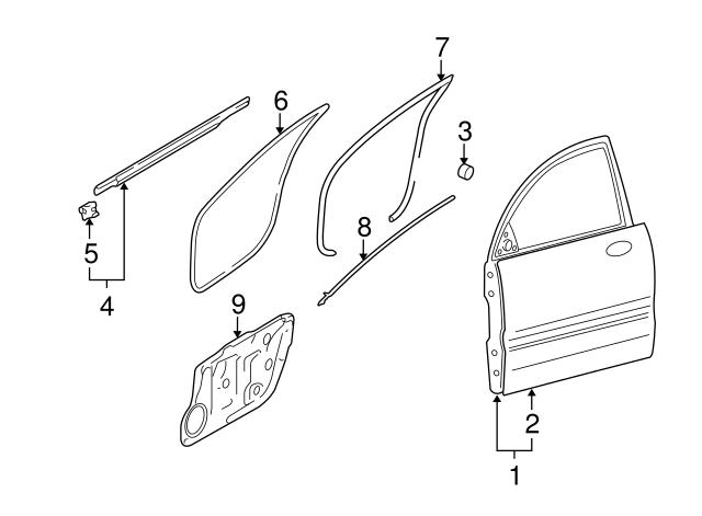 Genuine Hyundai 71640-3K000 Upper Quarter Panel Assembly Right