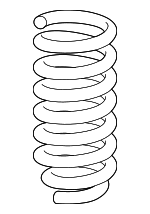 Coil Spring, Right, Left, Front