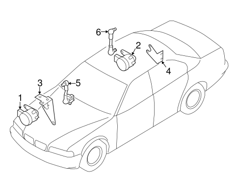 Electrical Components For 1997 Bmw 740i