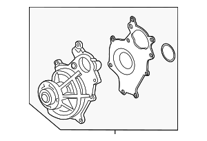 Water Pump - Ford (ER3Z-8501-C)