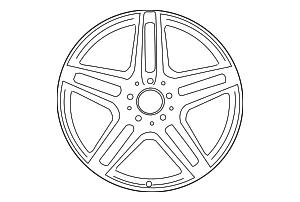 Wheel - Mercedes-Benz (212-401-09-00-7X21)