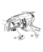 Headlamp Switch - Mopar (4602890AD)