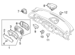 Light Sensor - Kia (97253-D4500)