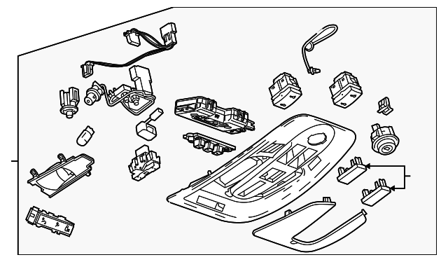 Gm L  Bezel 15945287 moreover Gm Headliner 22878016 in addition 2009 Cadillac Cts Wiring Diagram further 2006 Hyundai Santa Fe Ac Diagram additionally 2007 Chevy Trailblazer Liftgate Module. on saturn aura sunroof