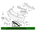 Tow Bracket Cover - Land-Rover (LR029973)