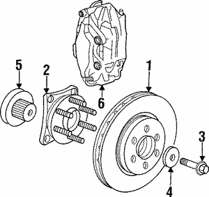 Brake Rotor, Left, Right