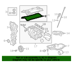 Engine Valve Cover Gasket - Toyota (11159-0P040)