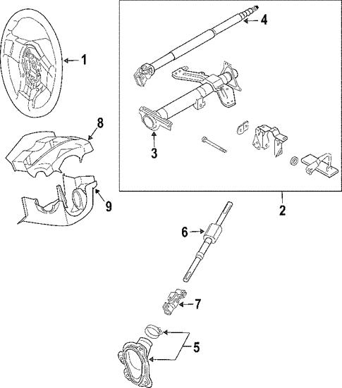 2005 Nissan Parts Diagram