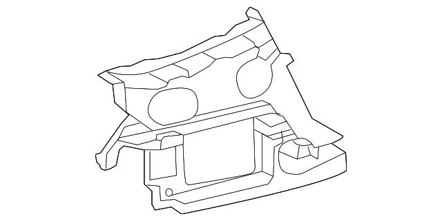2012 2015 Audi Upper Guide 4g5 807 393