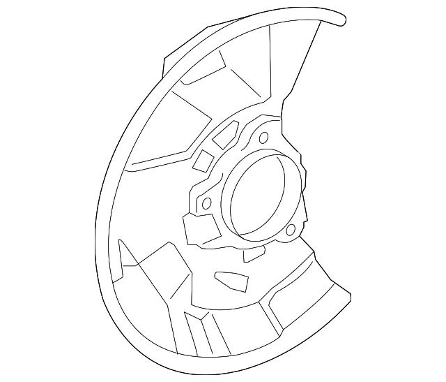 2005 2015 Toyota Tacoma Splash Shield 47782 04030