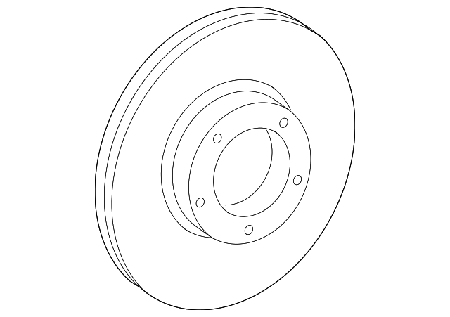 2005 2015 Toyota Tacoma Rotor 43512 04041