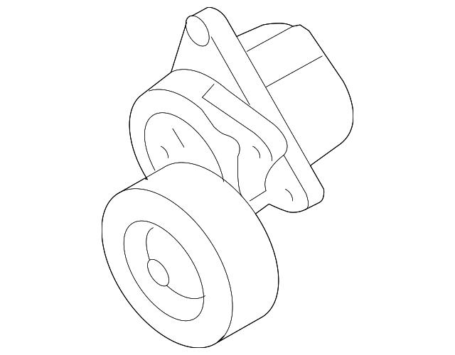 Genuine Nissan Belt Tensioner 11955 Ja00c