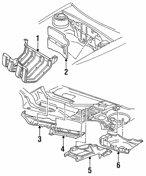 Covers Shields For 1997 Volkswagen Jetta