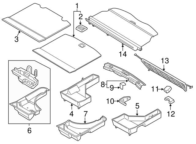 Ford Cover Assembly Fa1z 5845440 Aj