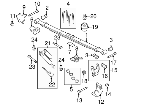 Ford F150 Suspension Diagram