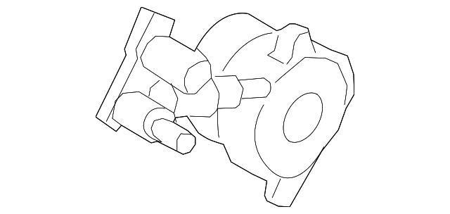 Genuine Ford Slave Cylinder Dg9z 7a564 B