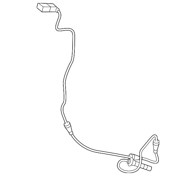 Genuine Mercedes Benz Abs Sensor 205 905 45 07