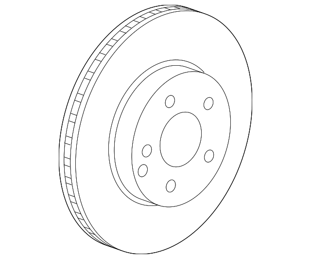 Genuine Mercedes Benz Rotor 000 421 22 12