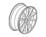 Wheel, Alloy - BMW (36-11-6-783-522)