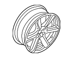 Wheel, Alloy - Volvo (31445015)