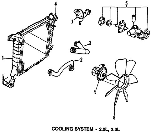 2000 ford ranger fuel system diagram cooling system for 2000 ford ranger #14