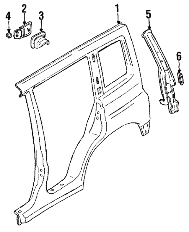 Geo Tracker Frame Repair Geo Tracker Soft Top Diagram Frame Geo Free