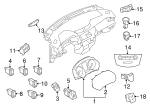 Cluster Assembly - Nissan (24810-6MM0A)