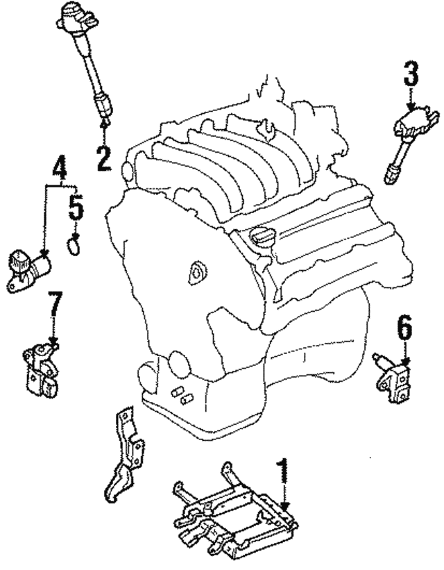 Ignition Coil - Nissan (22448-31U01)