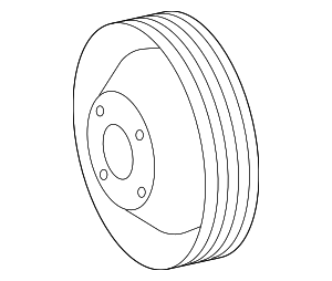 Pulley - Mercedes-Benz (111-202-01-10)