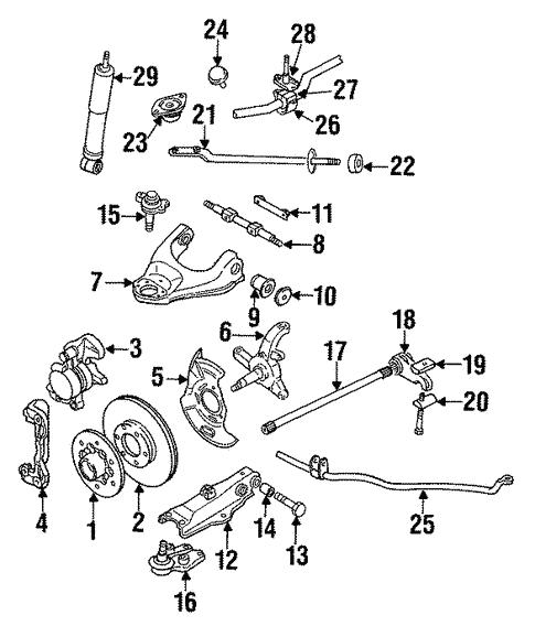 isuzu 2 3l engine diagram front suspension for 1990 isuzu pickup world oem parts subaru  front suspension for 1990 isuzu pickup