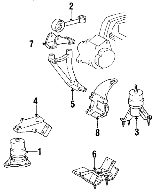 Toyota 4runner Coil Pack Diagram In Addition 1995 Toyota Camry Radio