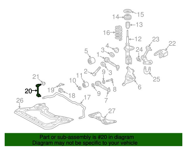 Stabilizer link mercedes benz 203 320 28 89 benzel for Mercedes benz product concierge