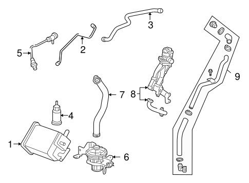 Gm Pipe 12648985 moreover Chevy Silverado Outside Air Temp Sensor likewise Rear Suspension Scat moreover Radiator And  ponents Scat furthermore Ignition Lock Scat. on chevy impala oem parts online