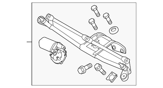 wiper motor assembly