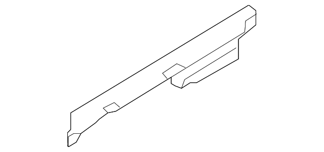 For BMW Genuine Rocker Panel Molding Bracket 51777256917