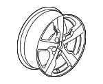 Wheel, Alloy - GM (22826571)