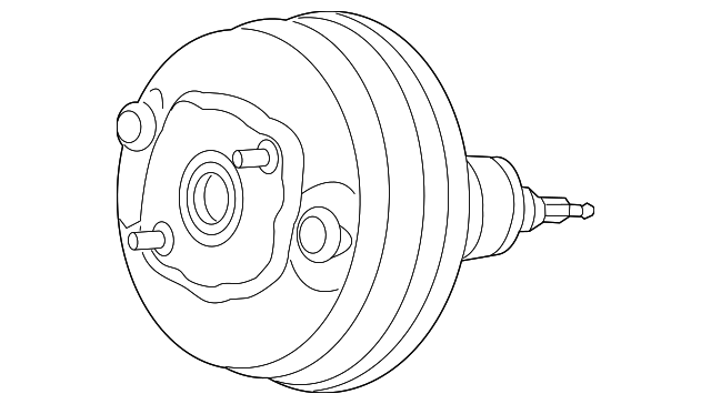 2016 2018 Audi Power Booster 4g0 612 107 E